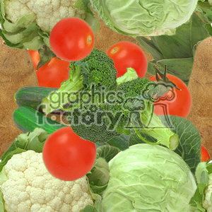 vegetable background clipart. Royalty-free image # 371324