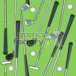 golf club clipart. Royalty-free image # 371334