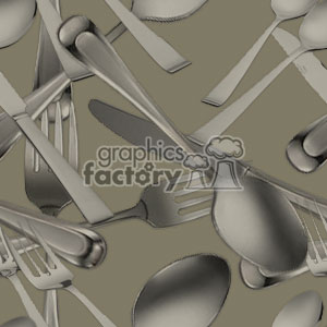 background backgrounds tiled tile seamless watermark stationary wallpaper silver wear utensil utensils spoon spoons forks fork