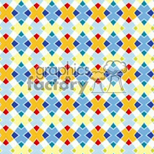 103106-color diamonds clipart. Commercial use image # 372190