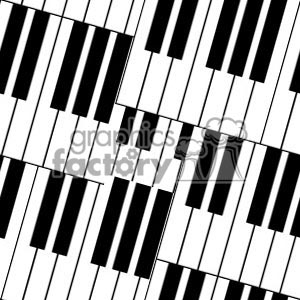 103106 piano keys clipart. Royalty-free image # 372210