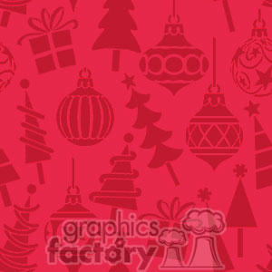 red Christmas background clipart. Royalty-free image # 372665