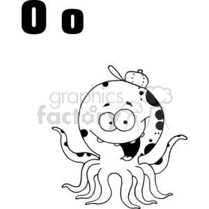 O as in Octopus clipart. Royalty-free image # 378028
