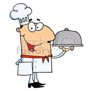 Chef clipart. Royalty-free image # 378323