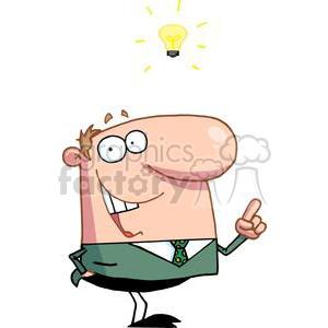 vector cartoon funny business idea