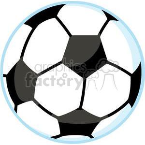 soccer ball clipart. Royalty-free image # 379668