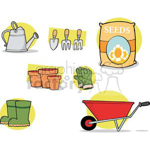 Garden Accessories clipart. Royalty-free image # 379798