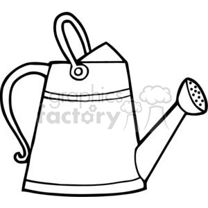 2419-Royalty-Free-Gardening-Tool-Watering clipart. Commercial use image # 379803