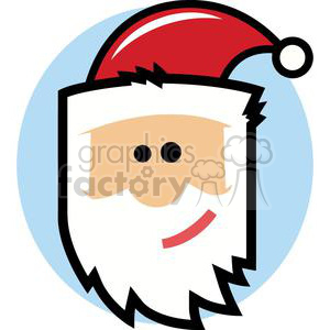 Santa Claus clipart. Commercial use image # 379888