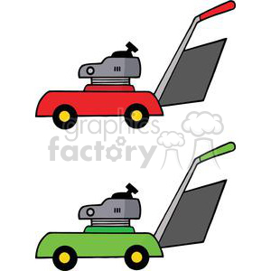 2455-Royalty-Free-Gardening-Tools-Mowers clipart. Royalty-free image # 379913