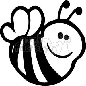 2624-Royalty-Free-Bee-Cartoon-Character clipart. Commercial use image # 379948