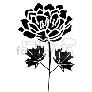 99-flowers-bw clipart. Royalty-free image # 380065