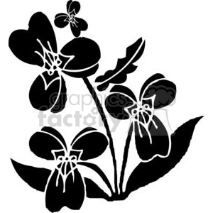 wild flowers clipart. Royalty-free image # 380145