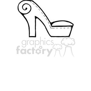 Sofa-Chair-HighHeelShoe clipart. Commercial use image # 380185