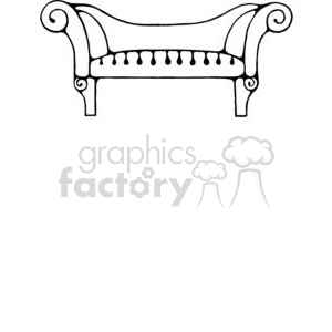 Sofa-Long3 clipart. Royalty-free image # 380195