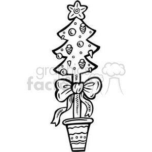 small Christmas  tree clipart. Commercial use image # 381105