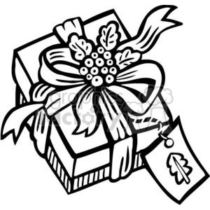 Christmas gift clipart. Commercial use image # 381135
