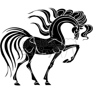 fancy horse clipart. Commercial use image # 383653