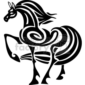 horse art clipart. Commercial use image # 383673