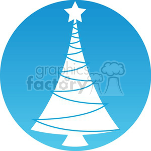 Christmas tree icon clipart. Royalty-free image # 383695