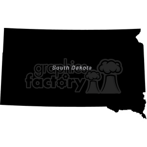 SD-South Dakota clipart. Royalty-free image # 383785