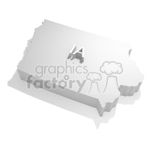 Iowa clipart. Royalty-free image # 383808