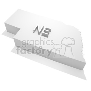 Nebraska clipart. Commercial use image # 383818