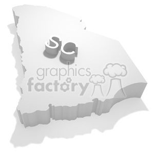 South Carolina clipart. Royalty-free image # 383828