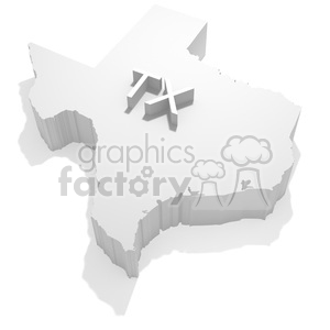 Texas clipart. Commercial use image # 383838