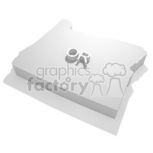 Oregon-OR clipart. Royalty-free image # 383843
