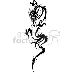 chinese dragons 036 clipart. Royalty-free image # 383854