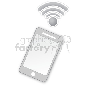 cell phone clipart. Royalty-free image # 383962