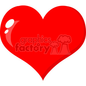 102580-Cartoon-Clipart-Cute-Bee-A-Red-Heart clipart. Royalty-free image # 384042