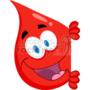 blood donation cartoon clipart. Royalty-free image # 384207