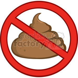 no-poo clipart. Commercial use image # 384217