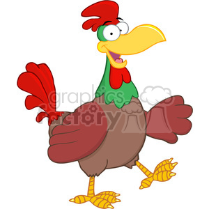 funny-chicken clipart. Royalty-free image # 384315