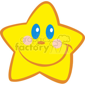 Royalty-Free-RF-Happy-Little-Star clipart. Royalty-free image # 384375