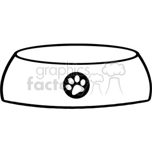 Royalty-Free-RF-Copyright-Safe-Dog-Bowl clipart. Royalty-free image # 384540