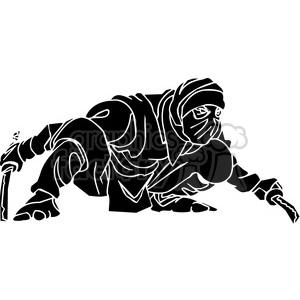 ninja clipart 028 clipart. Royalty-free image # 384674