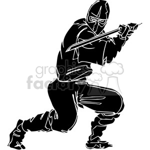 ninja clipart 013 clipart. Commercial use image # 384679
