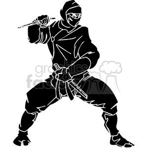 ninja clipart 047 clipart. Royalty-free image # 384689