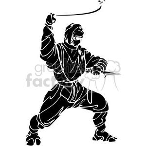 ninja clipart 019 clipart. Royalty-free image # 384704
