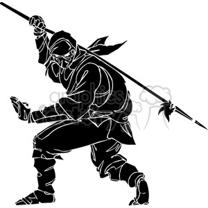 ninja clipart 038 clipart. Royalty-free image # 384714