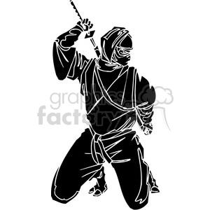 ninja clipart 003 clipart. Royalty-free image # 384719