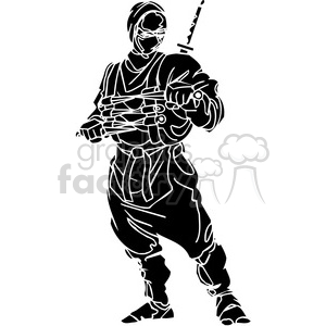 ninja clipart 002 clipart. Commercial use image # 384724