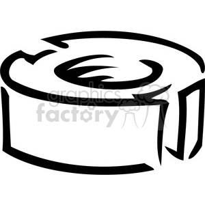 black and white nut clipart. Royalty-free image # 385016