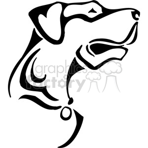 wild dog 033 clipart. Royalty-free image # 385476
