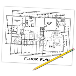 floor plan illustration clipart. Royalty-free image # 385536