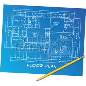 floor plans clipart. Royalty-free image # 385556