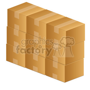 clip-art-moving-boxes-illustration-picture 004 clipart. Royalty-free image # 385566